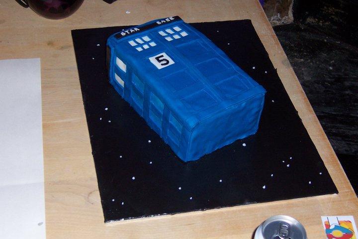 Birthday cake number 5
